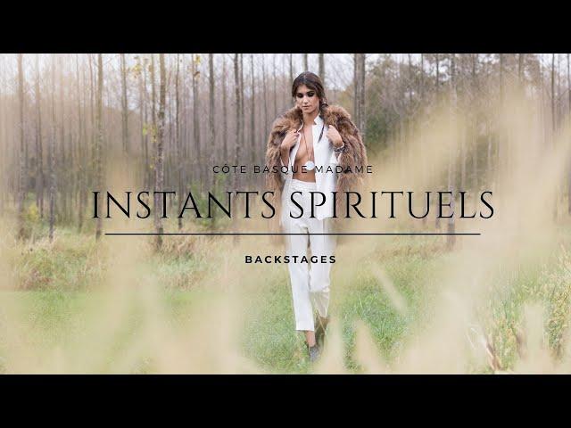 Instants spirituels : Backstages du shooting photo