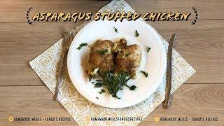 Asparagus Stuffed Chicken | Homemade Meals