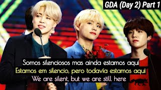 Yoonmin (Análise|Análisis|Analysis) GDA (Day 2) PART 1; We are silent, but we are still here