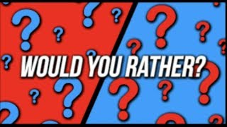 Would You Rather | Roblox | Boss Gamer1
