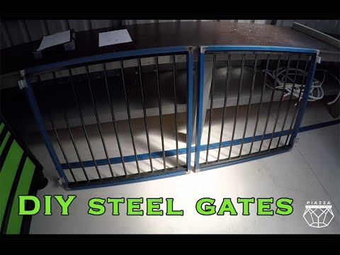 DIY Steel Gates