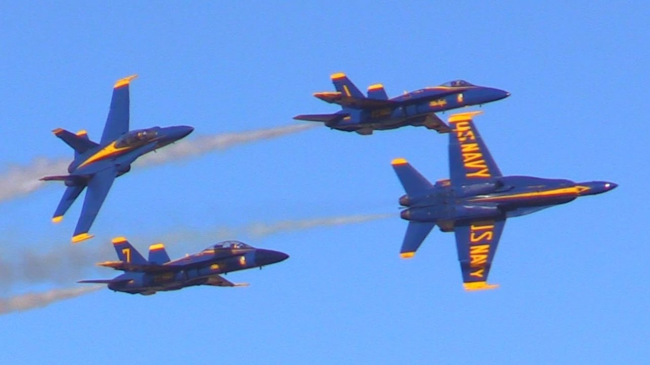 2017 Blue Angels (January 28th) - YouTube