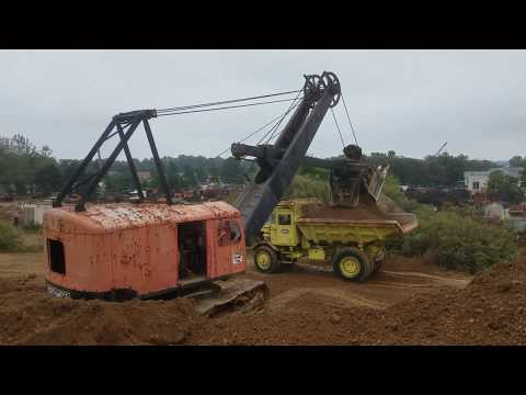 Antique Construction Equipment Playing In The Dirt At Gerhart Machinery Co. - Lititz, PA 10/6/18