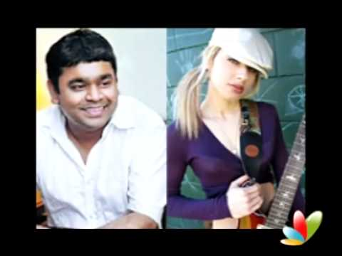 Rahman records with Michael Jackson's lead guitarist Orianthi Panagaris