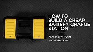 Charge Tons of Batteries On The Road! - Portable DIY Battery Charging Station