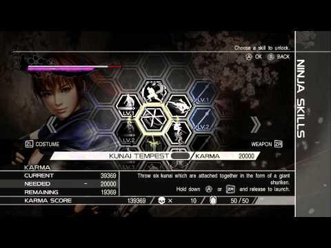 Ninja Gaiden 3 Razor's Edge - Kasumi Chapter 1