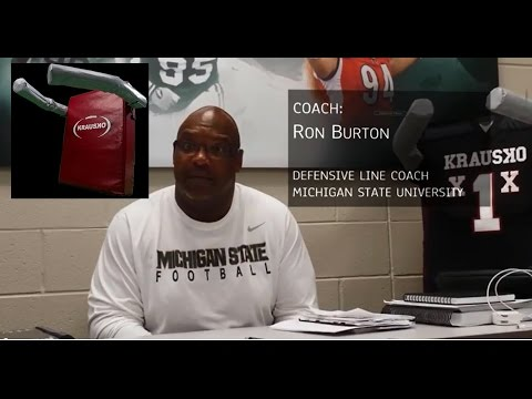 Defensive Lineman Football Equipment Review by MSU D Line Coach Ron Burton