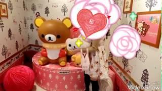 【アンクルージュ購入品紹介】くまワンピース(ピンク ver.)(Ank Rouge Bear Pattern Pink One-piece Dress)