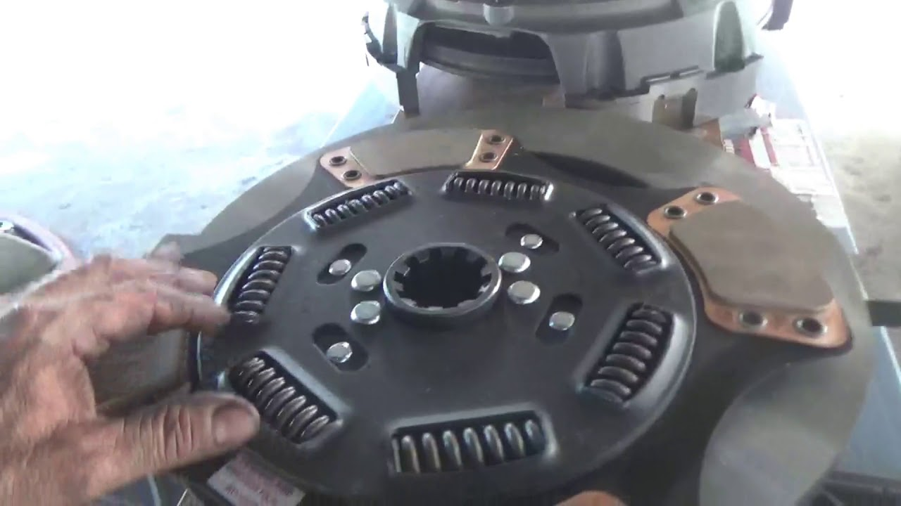 Replace Clutch On Big Truck   Part 4  Install Clutch