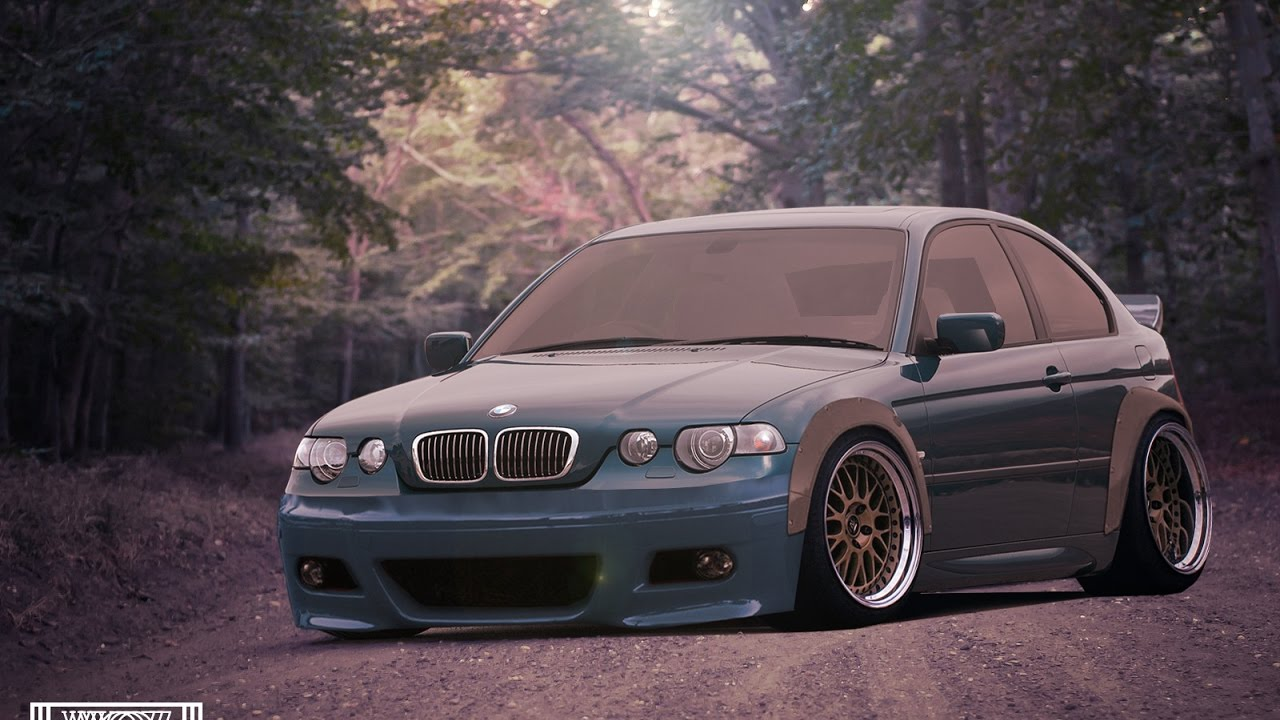 virtual tuning 5 bmw e46 compact youtube. Black Bedroom Furniture Sets. Home Design Ideas