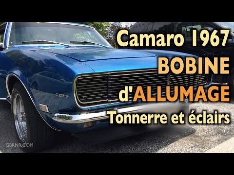Camaro 1967 💙  Washington D.C. Bobine d'Allumage 🌩  ⛈  Tonnerre et Eclairs ⚡️ Stroboscopiques ⚡️