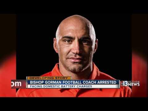 Parents, students respond to Bishop Gorman football head coach's arrest