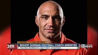 Parents, students respond to Bishop Gorman football head coach's arrest