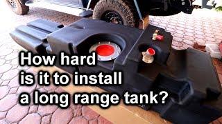 ARB Frontier Long Range Tank - DIY Installation