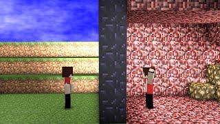 Minecraft  Survival #5 :Sincronizando Portais Do Nether!