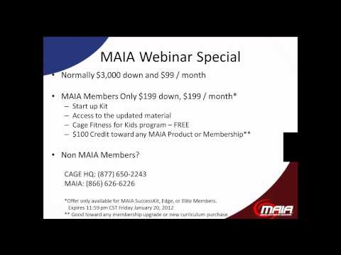 WEBINAR: Generate New Revenue with Cage Fitness