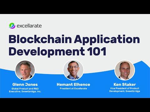 Blockchain Application Development 101 - Webinar - Synerzip (Apr 2018)