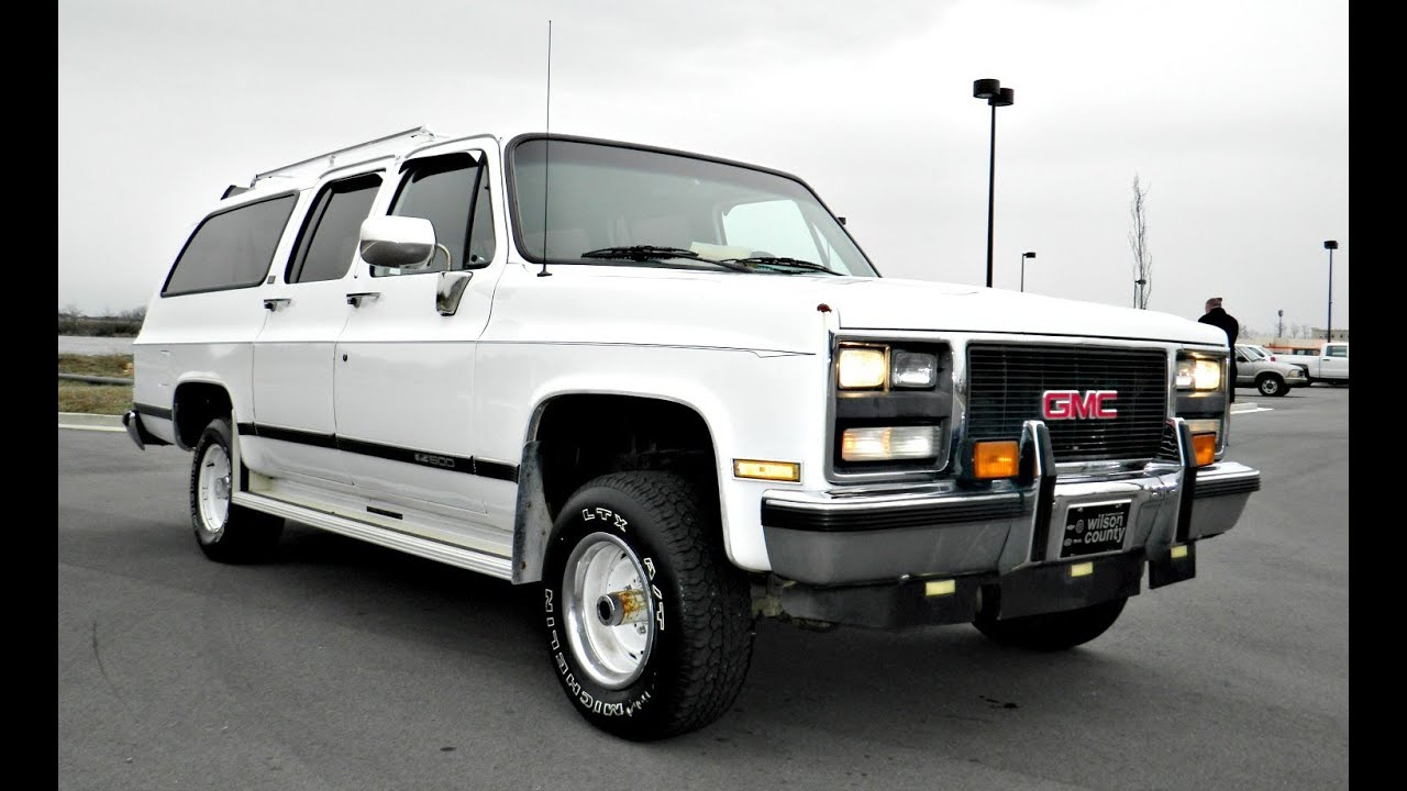 sold 1989 gmc suburban v1500 4x4 138k for sale lebanon tn call brian griz 855 507 8520 [ 1280 x 720 Pixel ]