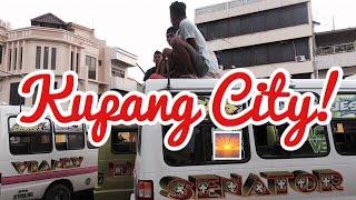 BEMO   Public Transportation in Kupang & Eating Jagung Bakar at Tedis Beach
