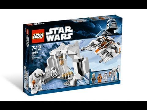 lego star wars 8089 hoth wampa cave™ review - youtube