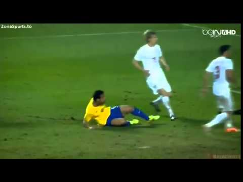Fred Goal   Brazil vs Serbia 1 0 Friendly Match