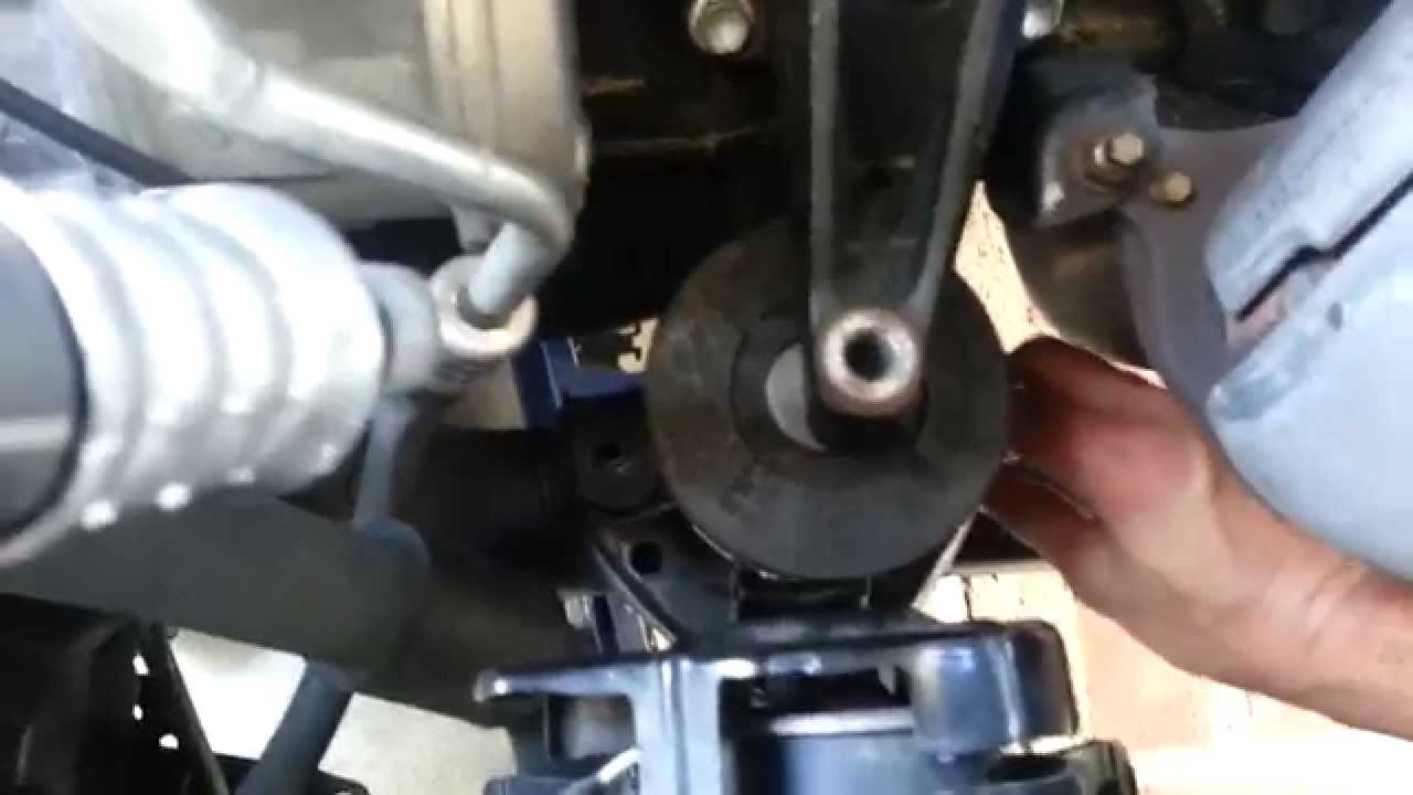 01 Toyota Camry Engine Mount Installation Youtube