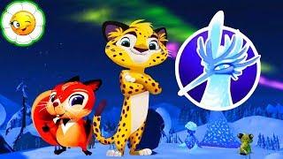 Лео и Тиг #8    Лео, позови всех зверей смотреть на северное сияние!