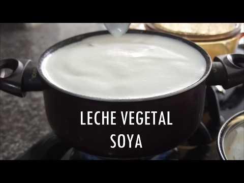 Cómo preparar LECHE DE SOYA/SOJA - en casa (FÁCIL Y RÁPIDO)