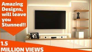Amazing ways to design your TV Unit- Plan n Design