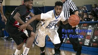 Ryan Harrow Highlights vs Tenn. Temple (25 Points) Sick Move on a Miss!!!