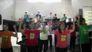 Família Alegria - Aperte a mão do amigo mais perto - Acampamento IPCG 2012 - HD