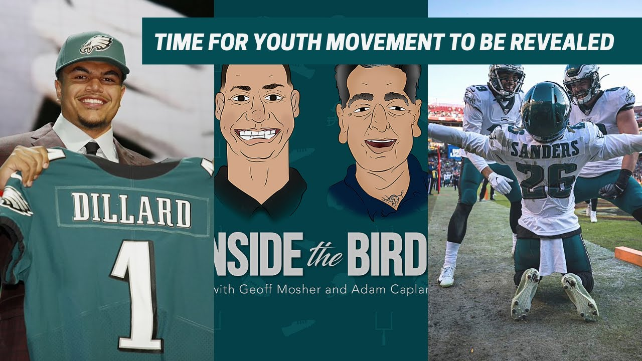 TIME FOR THE EAGLES YOUTH MOVEMENT TO BE REVEALED