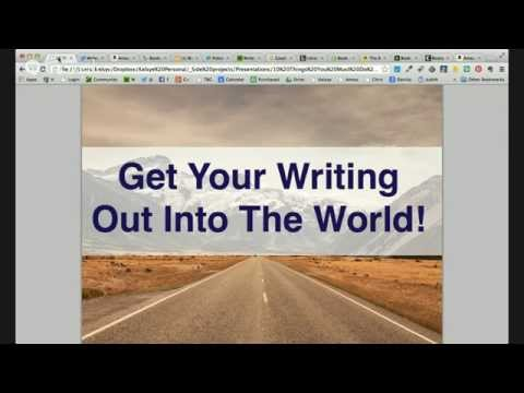 Ten Things To Do BEFORE You Publish - LIVE Broadcast
