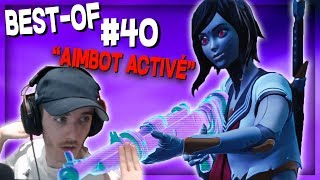 Give ME an AIMBOT... Here's the RESULTS Best Of Live Fortnite #40