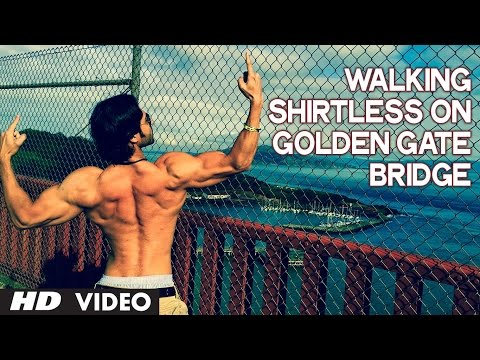 Walking Shirtless on Golden Gate Bridge | Motivational Video | Guru Mann | Health And Fitness