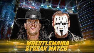 Undertaker vs Sting - Wrestlemania | WWE Universe Mode | Match of the Season (2)