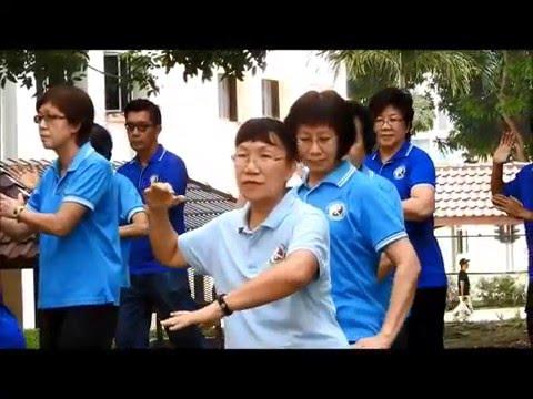 World TaiChi Qigong Day 2016 in Singapore by TaiChi Jennifer www: taichi.sg
