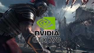 Ryse: Son of Rome Walkthrough Gameplay On GTX 770