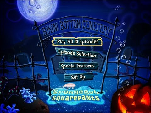 SpongeBob SquarePants Halloween DVD Menus* - YouTube