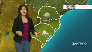 Previsão Sul – Tempo instável e risco de chuva forte