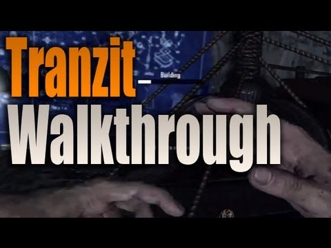 Black Ops 2 Zombies Green Run Tranzit Walkthrough Beginner to Pro (BO2 Tranzit Guide)