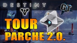 [Destiny] TOUR por el Parche 2.0.! (Torre, Colecciones, Vendedores, Menú y más!..)