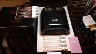 melodysusie 24 watt led 36 watt uv nail lamp 2 in1