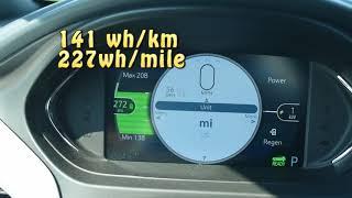 Chevy Bolt: Summer range test at 56mph & 75mph