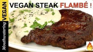 Vegan Steak Recipe | MOUTHWATERING VEGAN TV