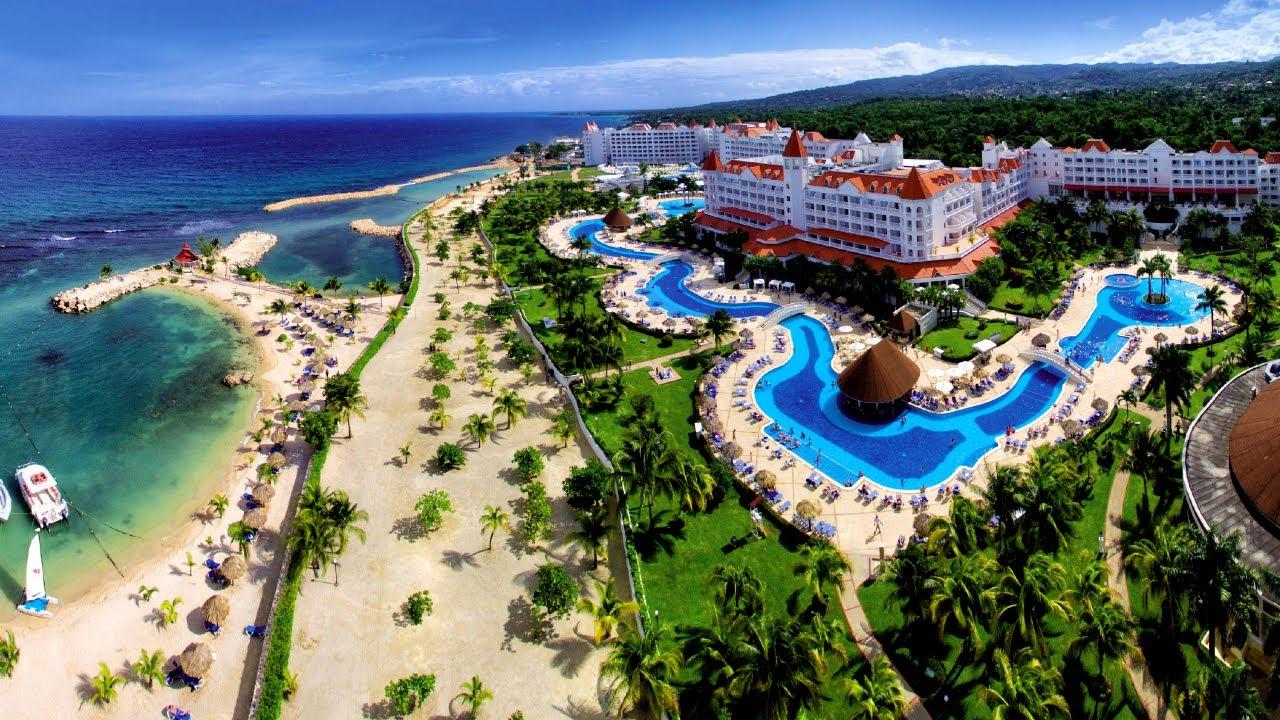 Gran Bahia Principe Jamaica beach - YouTube