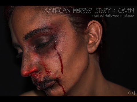 ☠ [American Horror Story: Coven] Inspired Makeup Tutorial