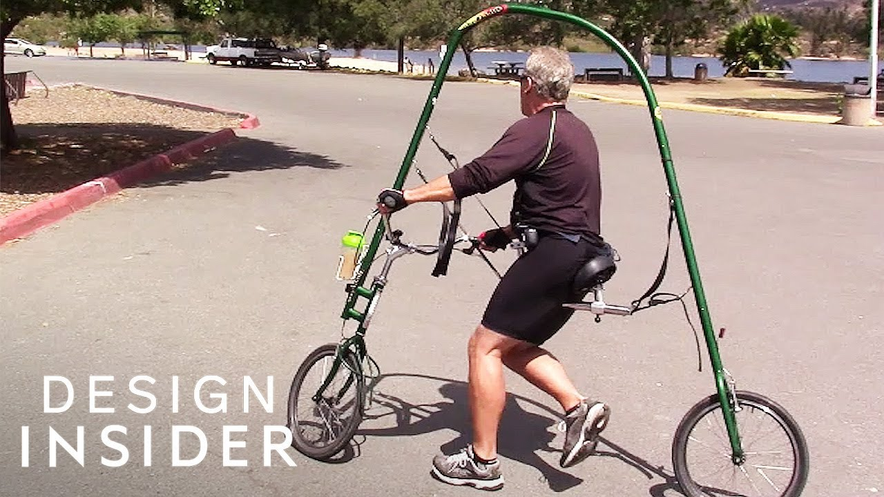 Weightless Bike Allows People With Injuries to Run