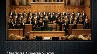 britten rejoice in the lamb the hastings college choir