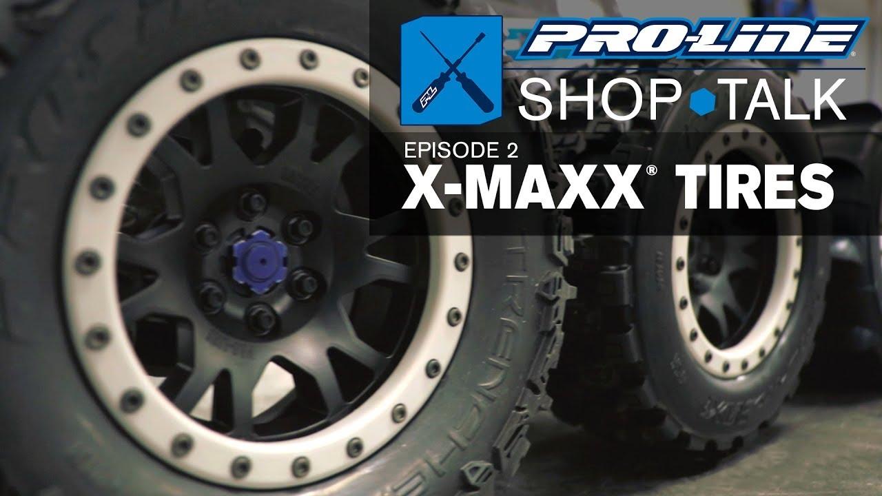 "X-Maxx Paddle 4 Pro-line 10146-13 Sling Shot 4.3/"" Pro-Loc Sand Mounted Tires"